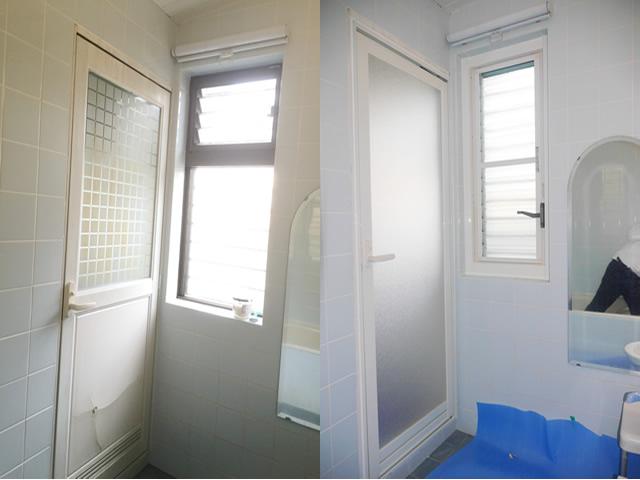 浴室ドアリフォーム LIXIL浴室ドアWD型 名古屋市名東区