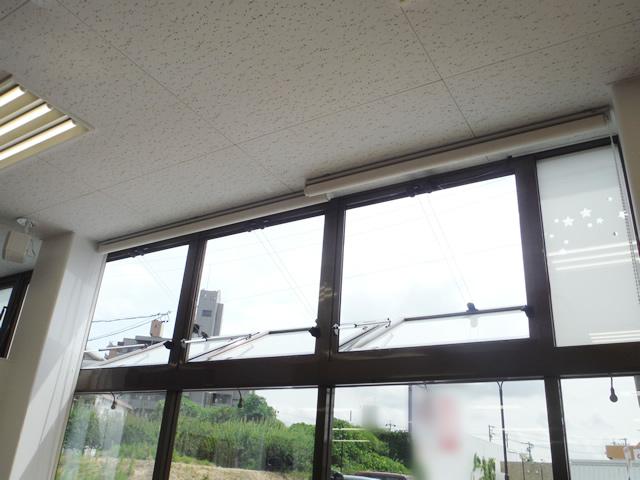 排煙窓の修理工事 名古屋市天白区