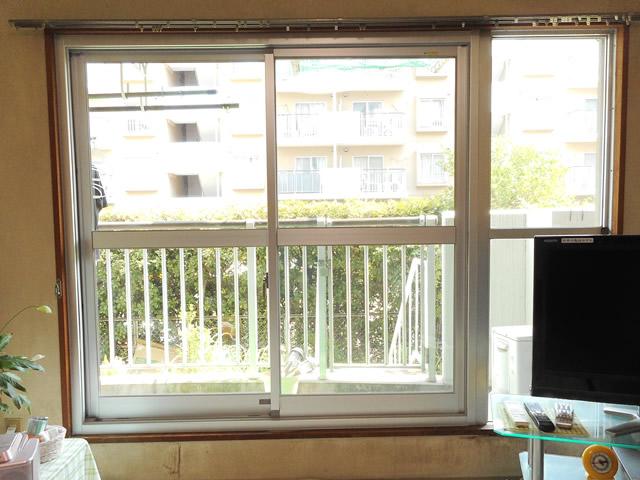 サッシリフォーム カバー工法による窓の取替 名古屋市中川区