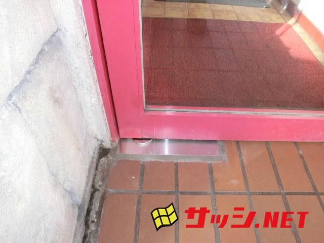 フロアヒンジ修理、交換 ニュースター HS−222 名古屋市中村区