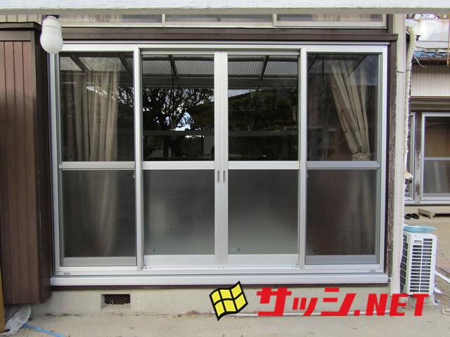 窓のリフォーム カバー工法によるサッシ改修工事<1> 知多郡東浦町