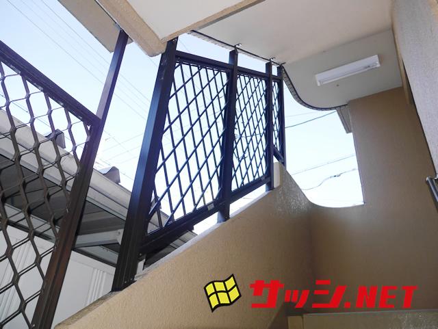 マンション共用部 防犯対策侵入防止格子 名古屋市港区