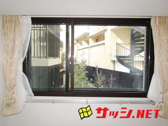 窓の寒さ対策 LIXIL内窓インプラス LOW−E複層ガラス<2>名古屋市千種区