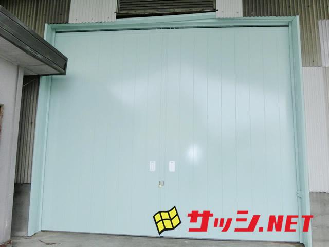 倉庫のハンガードア取替工事 名古屋市港区