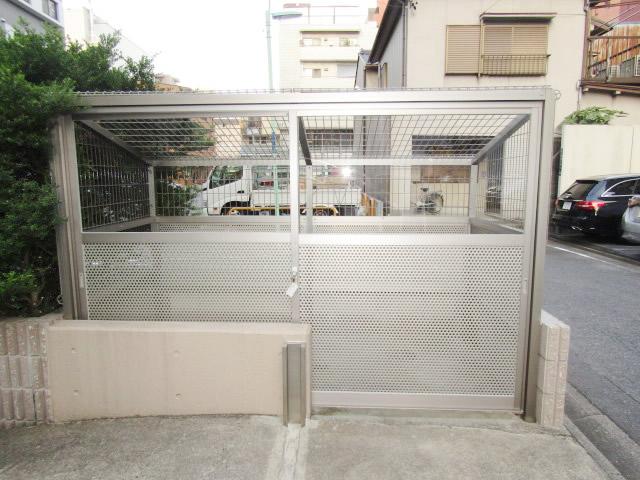 名古屋市中区 マンション ゴミ置場撤去、新設工事